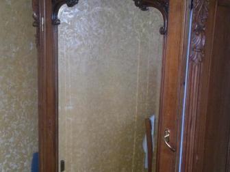 Смотреть фотографию Антиквариат антикварный платяной шкаф зеркальный 36616937 в Ростове-на-Дону