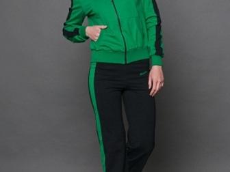 Скачать бесплатно фото Женская одежда Спортивный костюм хлопок салатный/черный 36780361 в Ростове-на-Дону