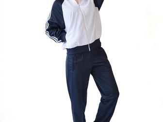 Новое изображение Женская одежда Спортивный костюм КС бело-синий 36780397 в Ростове-на-Дону