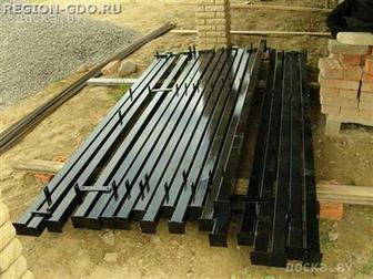 Скачать бесплатно изображение Строительные материалы Продаются металлические столбы по низким ценам 37631830 в Ростове-на-Дону