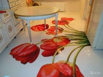 Смотреть фото  наливные декоративные полимерные полы для квартиры, дома, дачи 37883834 в Ростове-на-Дону