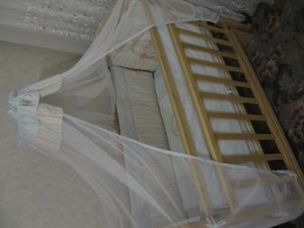 Новое foto Детские коляски Срочно продам кроватку маятник 38397464 в Ростове-на-Дону