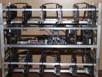 Скачать бесплатно фотографию Разное Продажа майнинг-фермы оборудования на основе 12 карт ASUS Radeon 67623152 в Ростове-на-Дону