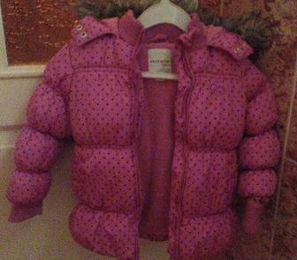 Фотография в   Продаю розовую куртку-пуховик Reserved Kids в Ростове-на-Дону 1500