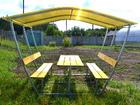 Свежее фото Строительные материалы Продаем садовые металлические ворота от производителя 34147123 в Рудне
