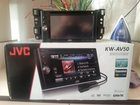Фото в Бытовая техника и электроника Автомагнитолы Продам магнитолу JVC, поддерживает CD-DVD в Салехарде 8000