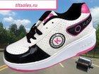 Смотреть фото Детская одежда НОВЫЕ кроссовки на колесиках 32563278 в Самаре