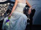 Фото в Одежда и обувь, аксессуары Свадебные платья Продам свадебное платье на хрупкую девушку в Самаре 10000