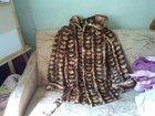 Изображение в Одежда и обувь, аксессуары Женская одежда Шуба из кусочков норки, размер 46. В хорошем в Самаре 10000