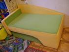 Смотреть фото Мебель для детей Детский мягкий диван-кровать,трансформер 68367723 в Самаре