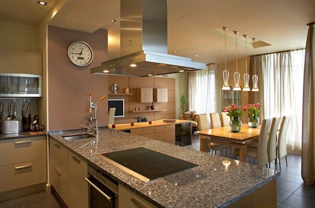 Фото интерьеров кухни гостиной