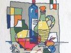 Изображение в Мебель и интерьер Антиквариат, предметы искусства Картина Кухонный ералаш, вышивка крестом в Санкт-Петербурге 15000