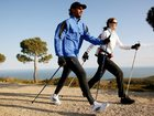 Фото в Одежда и обувь, аксессуары Спортивная одежда Палки для скандинавской ходьбы Nordic Walking в Санкт-Петербурге 1600