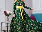 Скачать foto Женская одежда Длинное дизайнерское платье, все размеры 34270901 в Санкт-Петербурге