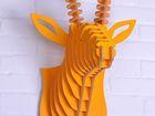 Фотография в Строительство и ремонт Дизайн интерьера Голова оленя доступна в любом цвете по вашему в Санкт-Петербурге 5000