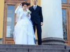 Foto в Одежда и обувь, аксессуары Свадебные платья Белое нежное платье со шнуровкой.   Шубка, в Санкт-Петербурге 12000