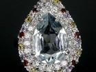 Увидеть foto Ювелирные изделия и украшения Серебряное кольцо с натуральным аметистом 38060004 в Санкт-Петербурге