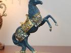 Праздничная Лошадь с декором 32 см