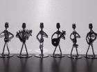 Статуэтки интерьерные фигурки металл сувенир подарок коллекция