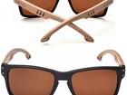 Солнцезащитные деревянные очки Scadino Brown