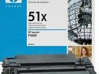 Тонер-картридж увеличенной ёмкости HP 51X (Q7551X)