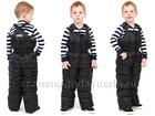 Смотреть фотографию Детская одежда Детский полукомбинезон на пуху «ОКСФОРД» черный 69299514 в Санкт-Петербурге