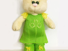 Увидеть фото  Мягкая игрушка кошка в платье 70347915 в Санкт-Петербурге