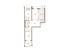 Продается 3-комн. кв-ра площадью 91.94 кв.м на 7 этаже 8 эта