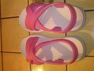 Новые пляжные босоножки Размер: 25  Продаются новые пляжные босоножки для девочк