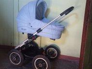 Детская коляска Продам не дорого в идеальном состоянии! Ручка регулируется по вы