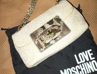 Продается новая сумка moschino Продается, новая, модная, итальянская, женская су