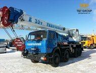 Автокран Галичанин КС-55729-1В с гуськом, Новый Базовое шасси 6540 8х4  Грузопод