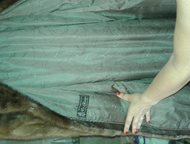 норковая шуба Продам норковую шубу из кусочков, цвета орех, б/у, размер 44-46. Д