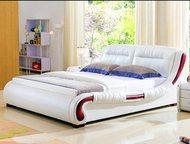 кровать натуральная кожа Кровать выполнена из высококачественных материалов  Изг