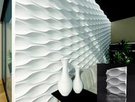 Декоративный камень Декоративный камень, 3D панели из гипса от производителя с д