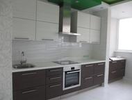 Кухня «Вудлайн» 4050 мм Модули с фасадами ЛДСП Egger, петли Blum, выдвижные ящик