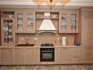 Кухня «Дуб эмаль» 2700 мм Модули с фасадами массив дуба (эмаль), петли Blum с до