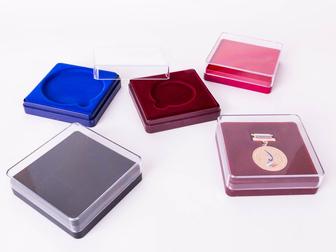 Увидеть изображение  Пластиковые футляры для значков медалей флешек 34858590 в Санкт-Петербурге
