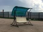 Фотография в Мебель и интерьер Мебель для дачи и сада С козырьком из цветного поликарбоната 6мм в Саранске 11500