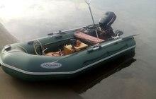 Лодка с мотором и эхолотом продам