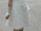 Увидеть изображение Свадебные платья Короткое свадебное платье А-силуэта 36686552 в Саратове