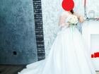 Увидеть фото  Свадебное платье со шлейфом 36751265 в Саратове
