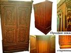 Свежее foto Антиквариат Продаю старинный шкаф, Антиквариат, 39990357 в Саратове