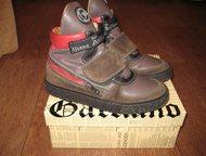 продам ботинки натуральные кожаные осенние ботинки, фирма Galiano, Италия, разме