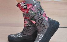 Продажа зимней обуви дутики оптом