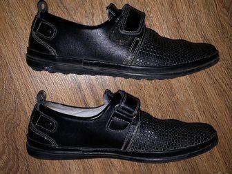 Свежее фото Детская обувь Продам полуботинки на мальчика 33269916 в Саратове