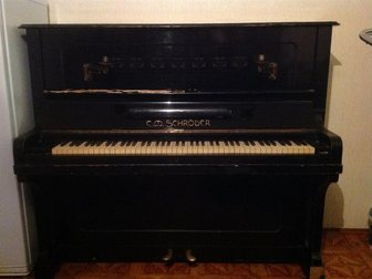 Уникальное фотографию  Антикварное Фортепиано Schroder 34332151 в Саратове