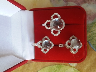 Скачать бесплатно foto Ювелирные изделия и украшения Шикарный 925 набор 35797895 в Саратове