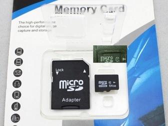 Свежее фотографию  Отдам новою микро sd флешку на 64g 10класс 36586932 в Саратове
