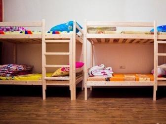 Скачать бесплатно фото Мебель для спальни Двухъярусная кровать из массива сосны 38724553 в Саратове